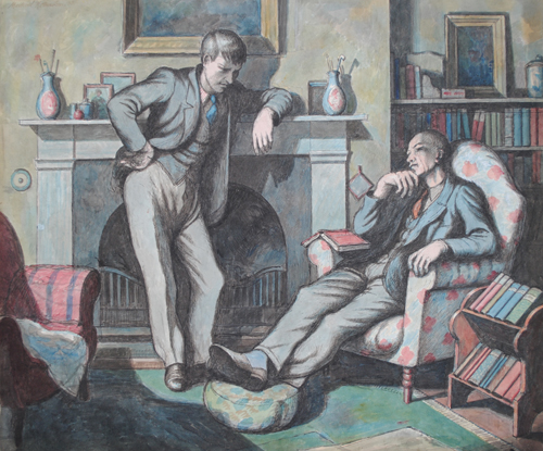 Ravilious & Bawden portrait acquired by NPG